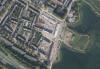 luchtfoto van nieuwbouw